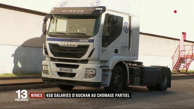 Nîmes : 450 salariés d'Auchan au chômage partiel