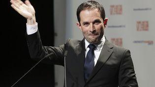 Une nouvelle rencontre est prévue jeudi 16 février entre les Benoît Hamon et Yannick Jadot. (PASCAL LACHENAUD / AFP)