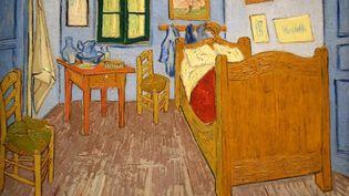 """Le tableau """"La Chambre de Van Gogh à Arles"""" a été peint en 1888, alors que le peintre se trouvait en France. (J-M EMPORTES / ONLY FRANCE / AFP)"""