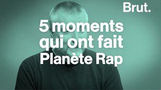 VIDEO. Cinq moments qui ont fait Planète Rap (BRUT)