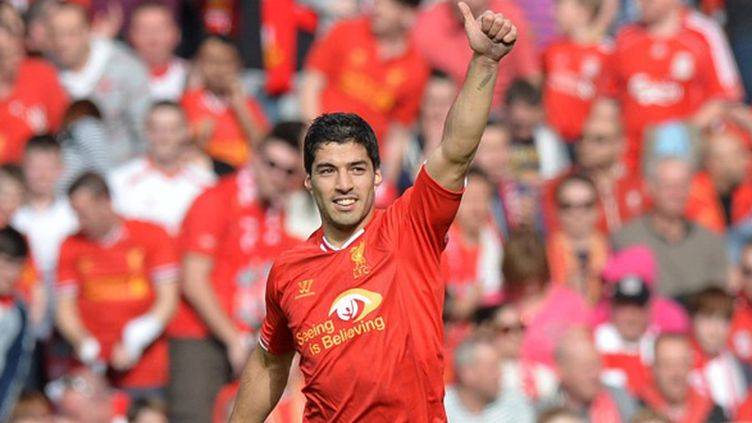Luis Suarez (Liverpool FC) (PAUL ELLIS / AFP)