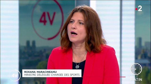 4V : Sports: «Jusqu'au 30 juin il y aura 5000 personnes autorisées dans les fan-zones à l'extérieur», précise Roxana Maracineanu