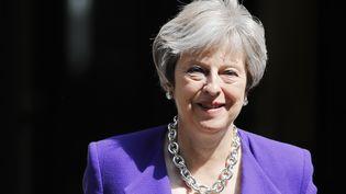 """Christian Lequesne, professeur à Sciences Po,a expliqué, lundi sur franceinfo, que """"cela fait quand même des mois que Theresa May a du mal à contrôler David Davis"""", le ministre en charge du Brexit. (TOLGA AKMEN / POOL)"""
