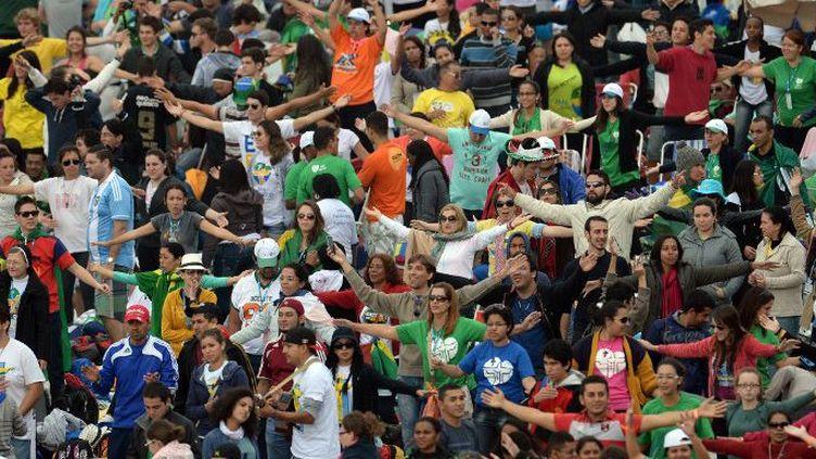 Les JMJ de Rio de Janeiro, au Brésil, en 2013, ont rassemblé 3.000.000 de chrétiens. (Godong / Photononstop)
