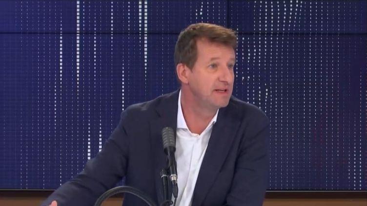 """Yannick Jadot, député européen EELV, était l'invité du """"8h30 franceinfo"""", lundi 21 septembre 2020. (FRANCEINFO / RADIOFRANCE)"""