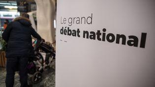 Un réunion du grand débat national à Nantes, en février 2019. (JEREMIE LUSSEAU / HANS LUCAS / AFP)
