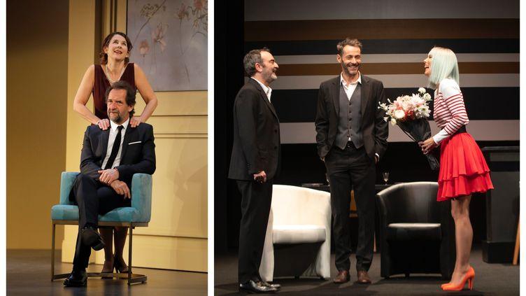 """""""Un amour de jeunesse"""" au Théâtre de la Renaissanceet """"Dix ans après"""" au Théâtre de Paris (Pascal Victor / Céline Nieszawer)"""