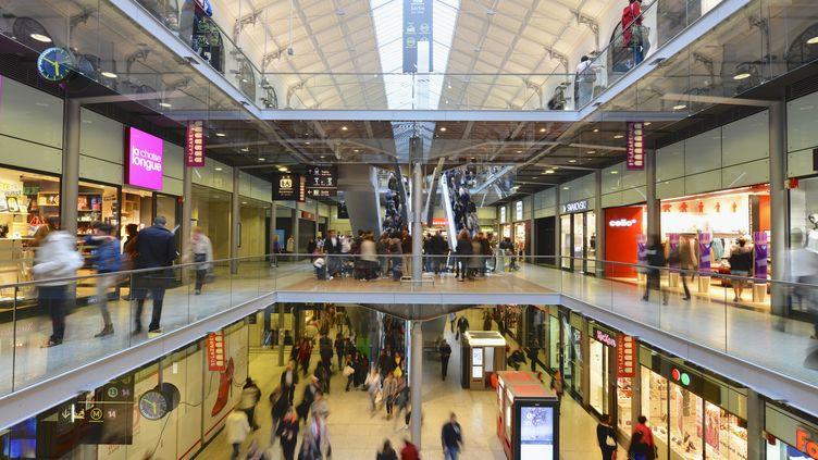 La gare Saint-Lazare, à Paris, en mars 2012. (FRANÇOIS RENAULT / AFP)