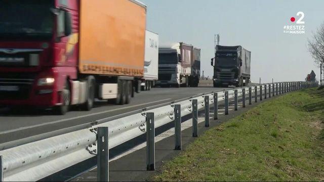 Confinement : les routiers travaillent dans des conditions difficiles