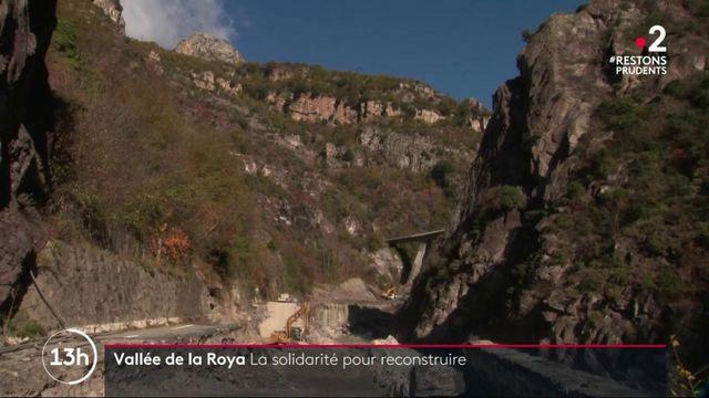 Six semaines après la tempête Alex, la Vallée de la Roya toujours fragile