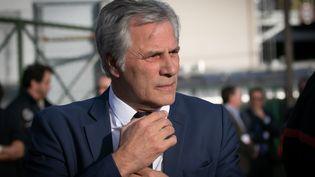 Frédéric Henry, le PDG de Lubrizol France. (LOU BENOIST / AFP)