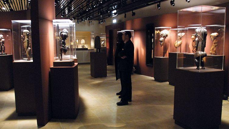 Au musée Dapper, à Paris.  (Philippe Desmazes / AFP)