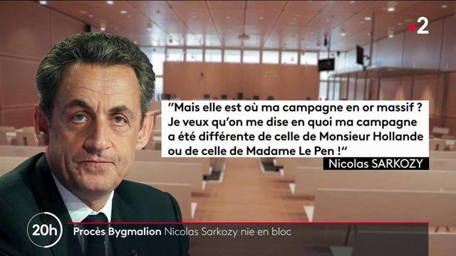 Affaire Bygmalion : Nicolas Sarkozy nie en bloc les accusations