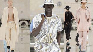 LGN louis Gabriel Nouchi printemps-été 2022 à la Paris Fashion Week, le 24 juin 2021 (Luca Tombolini @lucatombolini)