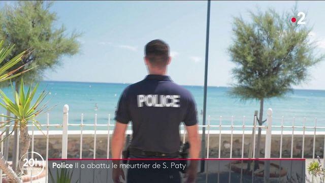 Assassinat de Samuel Paty : huit mois après le drame, le policier qui a neutralisé le meurtrier témoigne