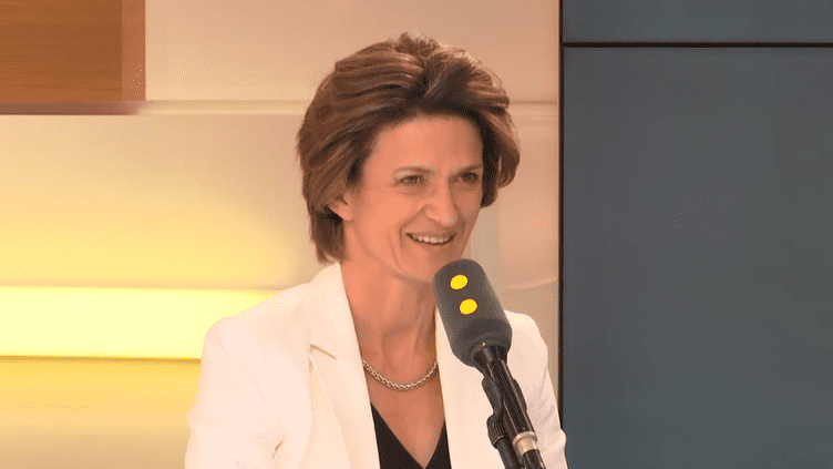 Isabelle Kocher,directrice générale d'Engie, le 8 mars 2018. (RADIO FRANCE / FRANCEINFO)