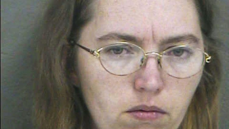 Lisa Montgomery, dans une photo diffusée le 20 décembre 2004 par les autorités de Kansas City (Etats-Unis). (WYANDOTTE COUNTY SHERIFF'S DEPARTMENT / AFP)