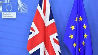 L'Union européenne et Londres sont parvenus à un accord provisoire sur leur relation post-Brexit, jeudi 22 novembre 2018. (EMMANUEL DUNAND / AFP)