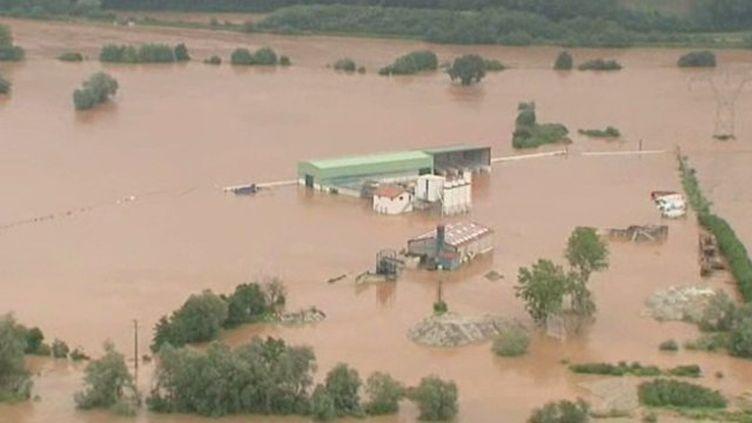 Les inondations dans les Pyrénées-Atlantiques. (FRANCE 3 AQUITAINE)