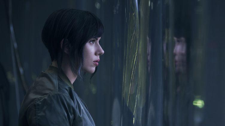 "Scarlett Johansson joue le rôle du Major dans ""Ghost In The Shell"" (JASIN BOLAND)"