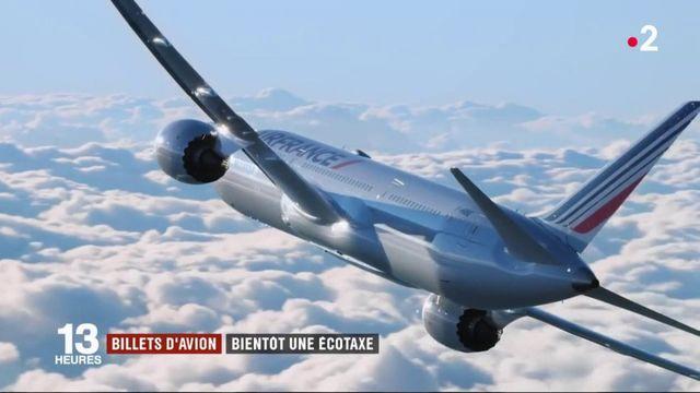 Transports : bientôt une écotaxe sur les billets d'avion