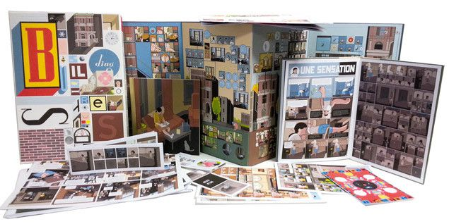 """Building stories"", Chris Ware (Delcourt, 2014)"