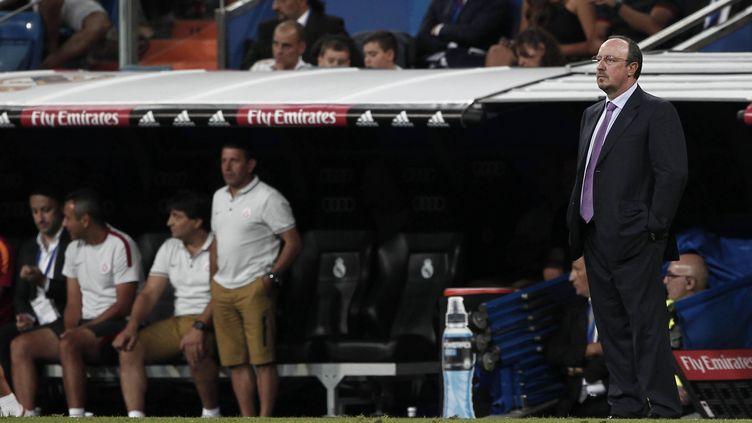 Premier match à Bernabeu pour Rafael Benitez. (PEPE FUENTES / ANADOLU AGENCY)
