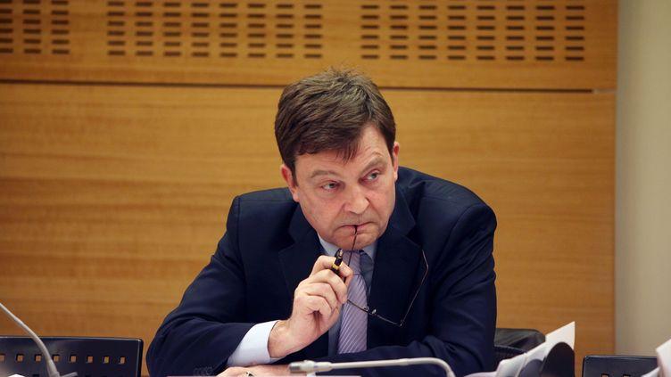 Pierre Henry, directeur général de France Terre d'Asile le 2 mars 2011. (MARLENE AWAAD / MAXPPP)