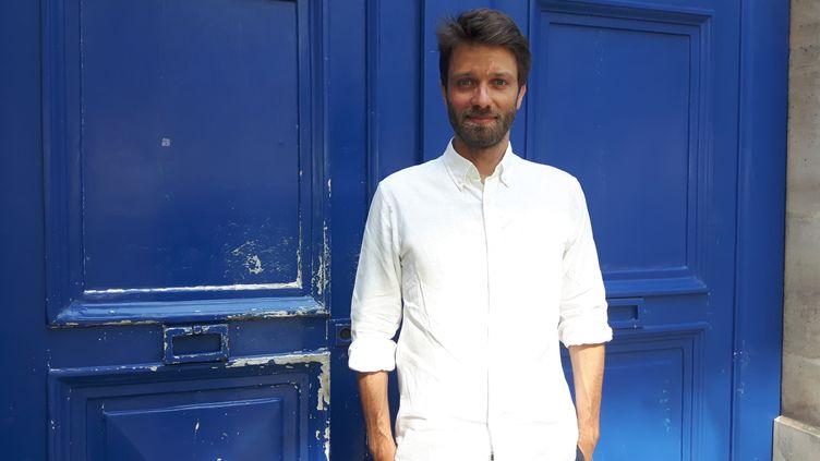 Antoine Genton, ancien journaliste à i-Télé. (SÉBASTIEN BAER / RADIO FRANCE)