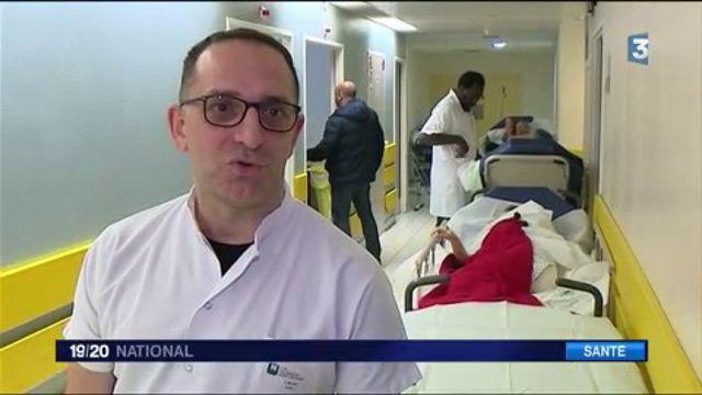 Grippe : les urgences ne désemplissent pas dans les hôpitaux