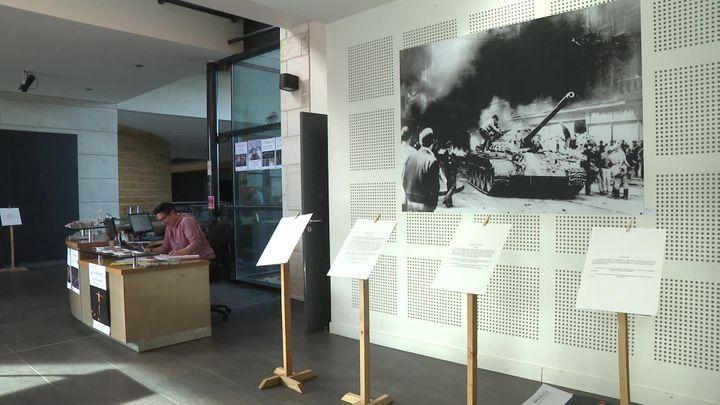 Exposition Ma révolution à la Mégisserie à Saint-Junien en Haute-Vienne. (N. Djailani / France Télévisions)