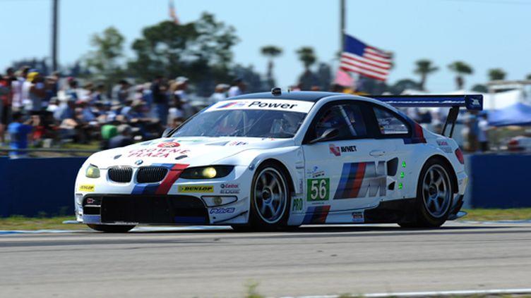 La BMW M3 GT à Sebring