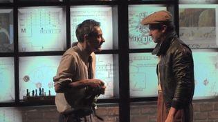 """""""La machine de Turing""""est une pièce de théâtre rendant hommage au mathématicien britannique. (CAPTURE D'ÉCRAN FRANCE 3)"""