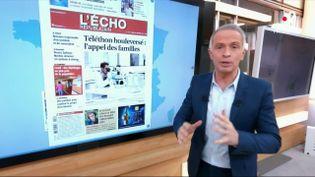 Vaccination, Téléthon… Les Unes des quotidiens régionaux (FRANCE 2)
