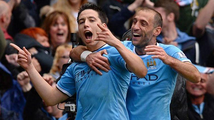 Samir Nasri explose de joie après son but