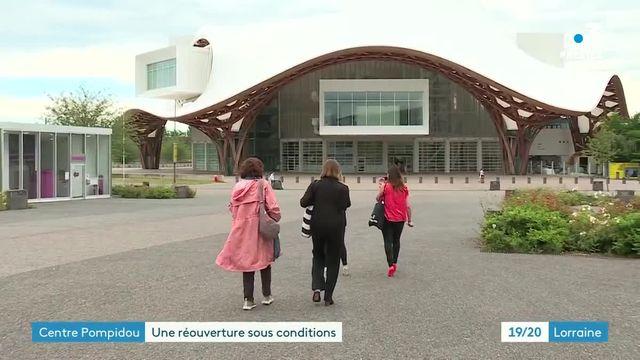 reouverture centre pompidou metz