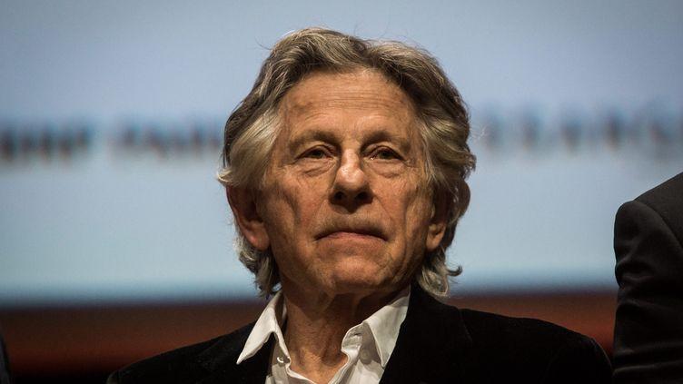 Roman Polanski, lors de la 8e édition de la Fête des Lumières à Lyon, le 14 octobre 2016. (NICOLAS LIPONNE/WOSTOK PRESS / MAXPPP)