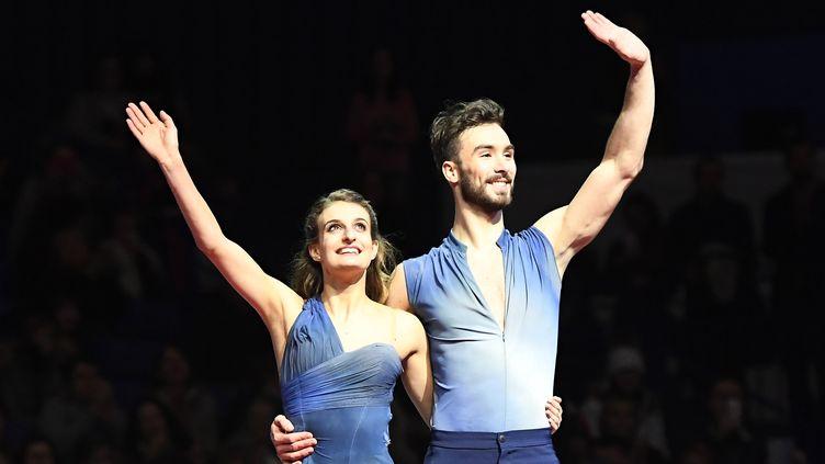 Gabriella Papdakis et Guillaume Cizeron (JOE KLAMAR / AFP)