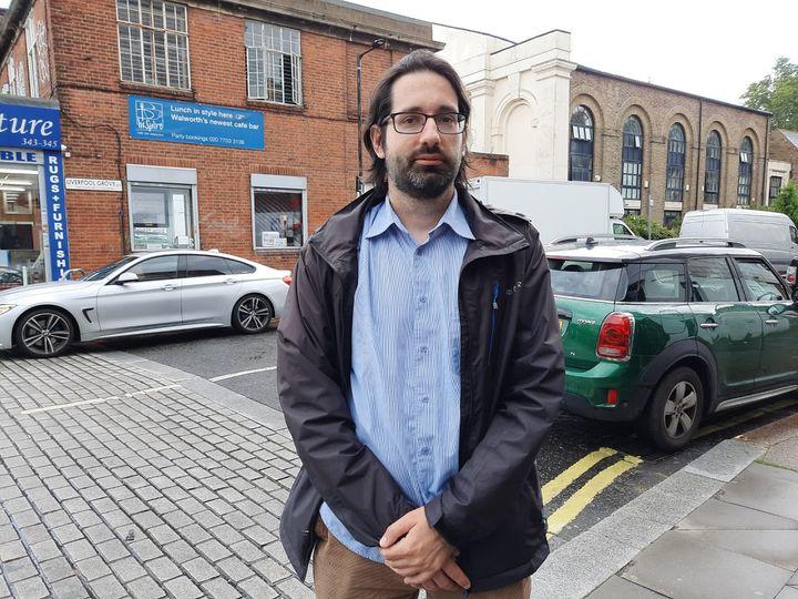 Marc Baguelin, épidémiologiste et membredu comité de modélisation de la pandémie au Royaume-Uni. (RICHARD PLACE / RADIO FRANCE)