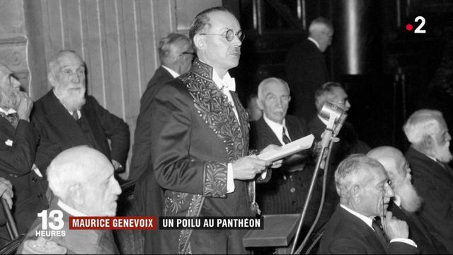 """L'écrivain Maurice Genevoix et """"toutes celles et ceux de 14"""" au Panthéon"""