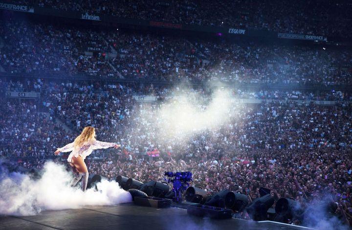 Final du concert de Beyoncé au stade de France, le 21 juillet 2016  (Daniela Vesco/AP/SIPA)