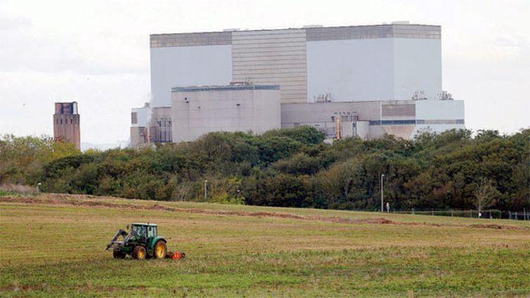 (C'est sur le site d'Hinkley Point C à Bridgwater, en Angleterre, qu'EDF construira les deux EPR qui fourniront 7 % de l'électricité du pays © Reuters / Suzanne Plunkett)