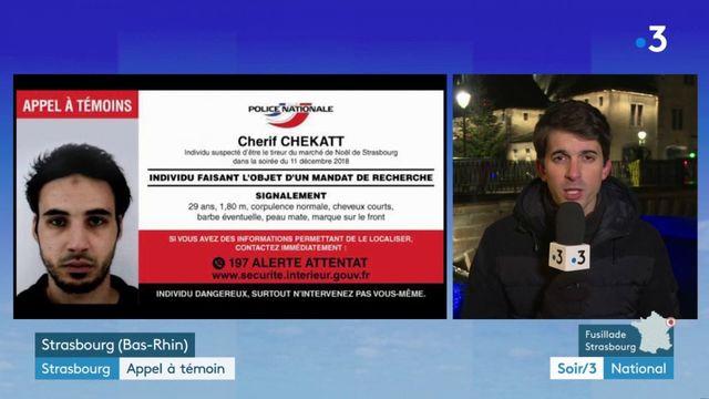 Attentat à Strasbourg : Cherif Chekatt véritablement traqué