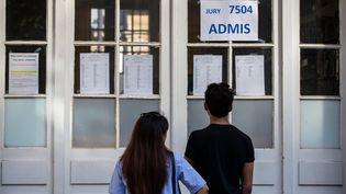 Après la grève de la surveillance des épreuves, des profs menacent de ne pas diffuser leurs notes (photo d'illustration). (AURELIEN MORISSARD / MAXPPP)