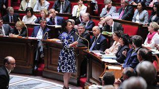 Cécile Duflot, ministre de l'Egalité des territoires, à l'Assemblée nationale, le 17 juillet 2012. (CHRISTOPHE MORIN / MAXPPP)