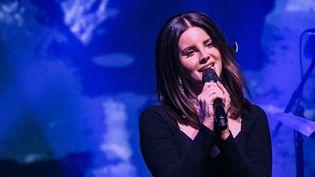 Lana Del Rey en concert à New York en octobre 2017.  (Mike Coppola / GETTY IMAGES NORTH AMERICA / AFP)