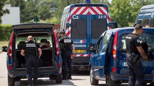 Les quatre individus arrêtés projetaient des actions contre des installations militaires. (MARIUS BECKER / DPA / AFP)