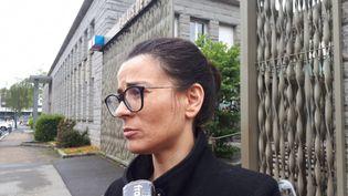 Maître Aurélie Le Goff, avocate commise d'office du chauffard de Lorient. (BENJAMIN ILLY / RADIOFRANCE)