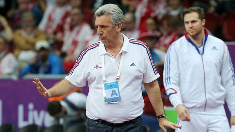 Claude Onesta, le sélectionneur de l'équipe de France (KARIM JAAFAR / AL-WATAN DOHA)