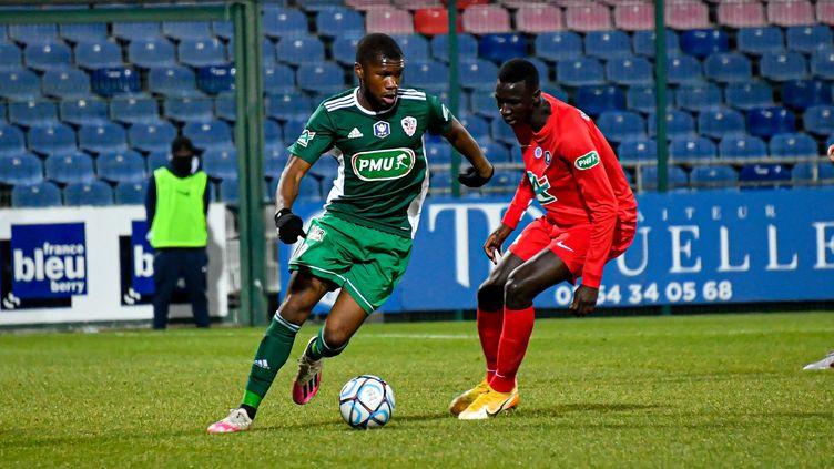 À domicile, Châteauroux face à l'AC Ajaccio en Coupe de France. (SERGE VIALLE / MAXPPP)